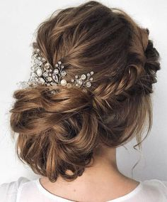 Today These Looks & Styles will make a big change in your decision for your next formal event or wedding day in 2018. Updo Wedding Hairstyles is the most Classic and Trendy styles for every Bridal. That's why we struggle and Collected some different styles for you to make your day special in your life.