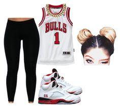 """~Bulls 1 <3"" by prettygirlnunu ❤ liked on Polyvore featuring Freaker and Club Manhattan"