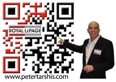 Peter Tarshis Custom QR Code