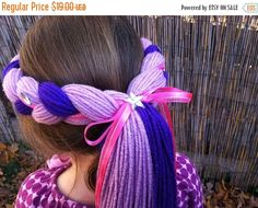 My Little Pony Costume Hair Twilight Sparkle by PoshPrincessBraids My Little Pony Costume, My Little Pony Unicorn, My Little Pony Twilight, Twilight Sparkle Costume, Cumple My Little Pony, My Little Pony Birthday Party, 5th Birthday, Sparkle Pony, Sparkle Outfit