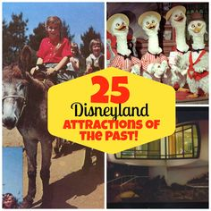 25 Disneyland Attractions of the Past: From a Lingerie Museum to Phantom Boats
