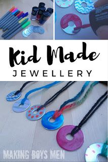 Simple, cheap jewelry that kids can make too