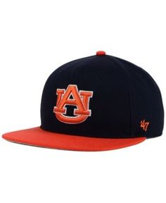 '47 Brand Kids' Auburn Tigers Lil Shot Captain Cap - Blue Adjustable