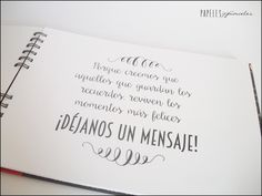 El sitio de mi recreo: LIBRO DE FIRMAS: VICTOR Y PILI Wedding Guest Book, Diy Wedding, Dream Wedding, Ideas Aniversario, 50th Wedding Anniversary, Ideas Para Fiestas, Book Signing, Marry You, Baby Scrapbook
