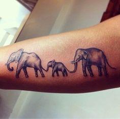 sweet elephant tattoo More
