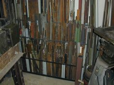 Ideas on how you store your metal...