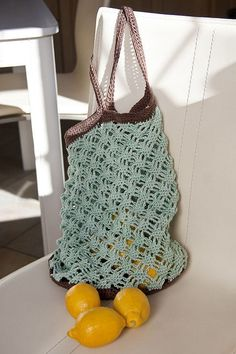 Mint Chocolate Market Bag