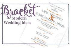 Modern wedding ideas with orange and black. https://www.pinterest.com/paperbycharmcat/modern-orange-wedding-ideas/