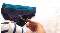 How To Make A Sports Bra Top From A Pair Of Men's Underwear | Home Cooking Recipes