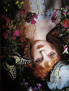 Doll : Damiel sculpt (2003). Doll artist / Koitsukihime. Photograph / Sakichi Kataoka. Ningyotsuki (2006)