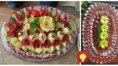 Food Displays, Antipasto, Cottage Cheese, Food And Drink, Cooking Recipes, Snacks, Baking, Fruit, Cake