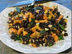 Forbidden Rice, Feta & Squash Salad
