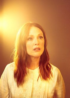 """""""The Sphinx Next Door: Julianne Moore and her Imagination"""" from The New Yorker -- Moore is fond of quoting Flaubert's dictum """"Be regular and orderly in your life, so that you may be violent and original in your work."""""""