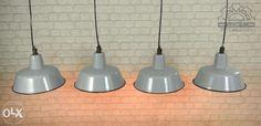 339zl 32śr 25cm wys Lampa LOFT przemysłowa loftowa BAUHAUS PRL industrial industrialna Włocławek - image 1 Bauhaus, Industrial, Ceiling Lights, Lighting, Pendant, Vintage, Home Decor, Decoration Home, Room Decor