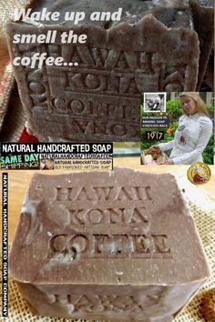 Coffee Soap, Kona Coffee, Beauty Soap, Soap Company, Cold Process Soap, Handmade Soaps, Artisan, Explore, Board