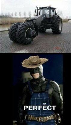 Batman Farm-mobile @marinagdesign @tkachen