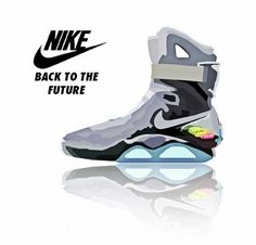 nike air mag   back to the future 2015 by dan hadez-d5x74py. Jhoel ∆ · Shoes  · The future  nikes ... 67e5446f0