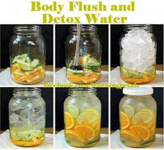 Now You Can Pin It!: Body Flush and Detox Water