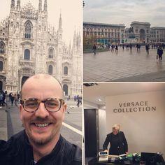 Milán - katedrála Duomo a Galerie Vittorio Emanuelle II Versace, Milan, Louvre, Building, Blog, Travel, Collection, Voyage, Trips