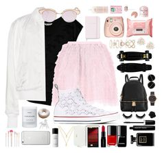 """""""Woah!"""" by awk0blue ❤ liked on Polyvore featuring BaubleBar, Beats by Dr. Dre, Bobeau, T By Alexander Wang, RED Valentino, Converse, Le Specs, philosophy, Kate Spade and Michael Kors"""