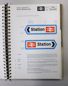 Creative Type, Vintage, Wallace, Henning, and Notes image ideas & inspiration on Designspiration Print Ads, Poster Prints, Brand Manual, Directional Signs, British Rail, Wayfinding Signage, Design System, Brand Guidelines, Environmental Graphics