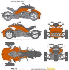 BRP Can Am Spyder F3