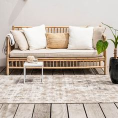 Outdoor Sofa, Outdoor Furniture, Outdoor Decor, Boho Lounge, Balcony Design, Sweet Home, Exterior, Patio, Bedroom