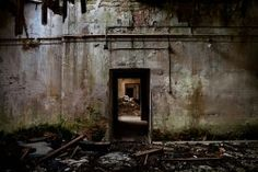 """abandoned urban sites""  (Opacity collects these images of urban ruins with their history.)"