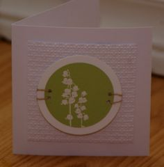 CASE of Biggan, Love her work--Lily of the Valley by mayodino - Cards and Paper Crafts at Splitcoaststampers