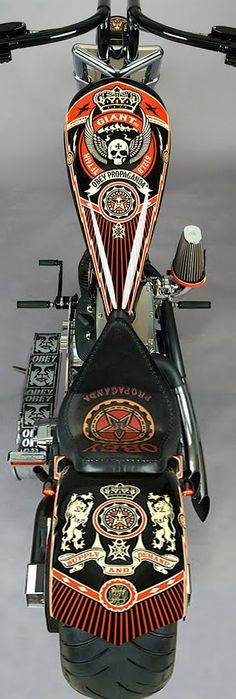 Obey Chopper Motorcycle