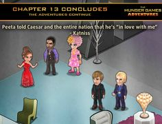 The Games Begin in The Hunger Games Adventures on Facebook!