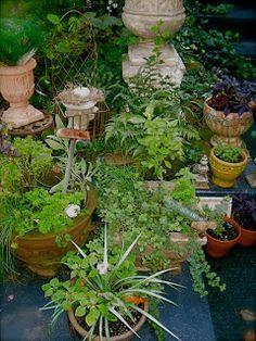 Junkaholics Unanimous: September 12, 2011 Fading Summer Gardens