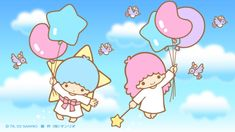 Sanrio Characters, Fictional Characters, Hello Kitty Pictures, Couple Wallpaper, Cartoon Tv, Little Twin Stars, Cute Pictures, Iphone Wallpaper, Old Things
