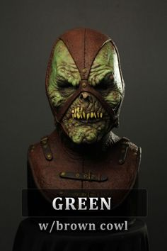 Professional Halloween Masks, Immortal Masks, Horror Masks, Silicone Masks, Dark Fantasy, Cowl, Mask Ideas, Open Face, Superhero