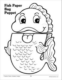 Fish Paper Bag Puppet                                                                                                                                                      More