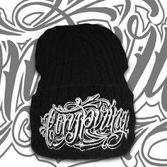 """Conspiring"" Beanie available at www.crmc-clothing.co.uk #beanies #winter #winter2016 #wintertime #keepwarm #wrapupwarm #warm #cosy #snugasabug #snugasabuginarug #love #Beanie #alternative #fashion #alternativeboy #alternativegirl #alternativeteen #instalove #instalike #instadaily #instagood #instafashion #dailyfashion #cute #Occulture #occult #beast #pentagram #picoftheday #fresh"
