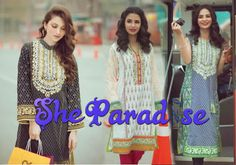 Exclusive Ladies Lawn Collection by Al Karam for Summer 2016 http://www.sheparadise.com/2016/04/exclusive-ladies-lawn-collection-by-al-karam.html