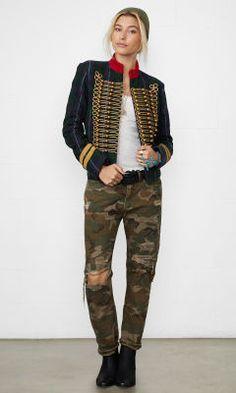 Plaid Officer's Jacket - Denim & Supply  Jackets - RalphLauren.com