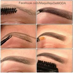 How To Fill Eyebrows Perfectly