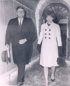 1962. Leaving WH for 1962 State of the Union address