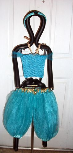 Princess Jasmine inspired pants outfit costume on Etsy, $40.00