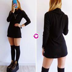 Black everywhere  [POLERON CALU NEGRO] $650 Local Belgrano Envíos Efectivo y tarjetas 3 cuotas sin interés Tienda Online www.oyuelito.com.ar  #followme #oyuelitostore #stylish #styles #fashion #model #fashionista #fashionpost #ootd #moda #clothing #instafashion #trendy #chic #girl #trends #outfitoftheday #selfie #showroom #loveit #look #lookbook #inspirationoftheday #modafemenina