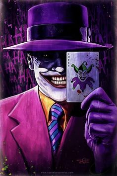 Batman Cartoon, Batman Comics, Batman And Superman, Joker Pics, Joker Art, Batman Universe, Dc Universe, Jokers Wild, Classic Cartoon Characters