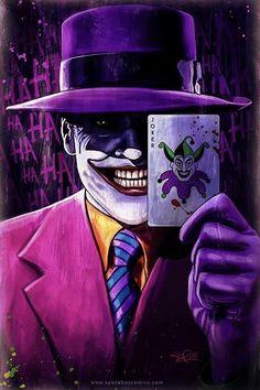 Joker Clown, Joker Art, Batman Art, Joker Batman, Dc Comics Art, Batman Comics, Batman Comic Wallpaper, Jokers Wild, Joker Poster