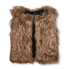 Girls  Faux-Fur Vest