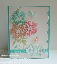 I love cards that use vellum!