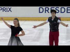2016 ISU Junior Grand Prix - Dresden - Short Dance - Marjorie LAJOIE / Z...