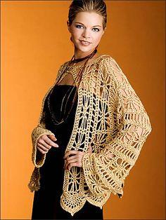 Ravelry: Golden Jacket pattern by Tammy Hildebrand