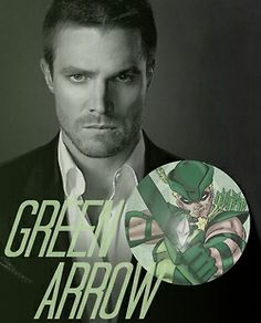 Stephen Amell is Oliver Queen aka Green Arrow Arrow Tv Series, Cw Series, Arrow Serie, Arrow Cw, Team Arrow, The Flash, Hot Men, Oliver Queen Arrow, Stephen Amell Arrow