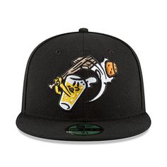 sale retailer eda85 7de11 August 4, 2018 Beer City Bung Hammers Fitted Cap, West Michigan Whitecaps.  Todd Smith · Hats